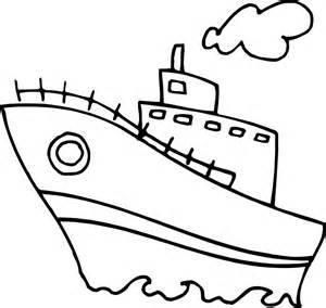 boat pictures kids coloring