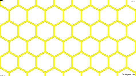 yellow hexagon pattern wallpaper yellow hexagon beehive honeycomb white ffffff