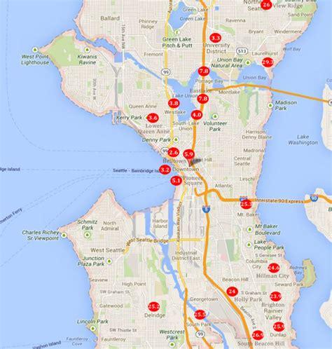 seattle neighborhood map seattle friendly neighborhoods
