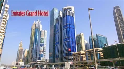 emirates hotel dubai emirates grand hotel dubai uae 4k youtube