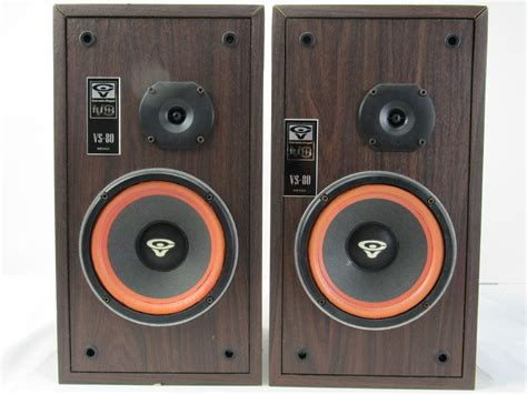 cerwin vs 80 vs series 2 way bookshelf speakers