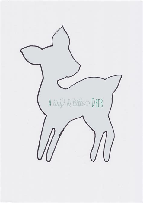 best photos of deer head outline printable deer head