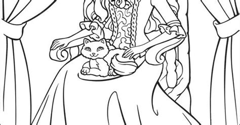 Barbie As The Princess And The Pauper Coloring Picture Princess And The Popper Printable