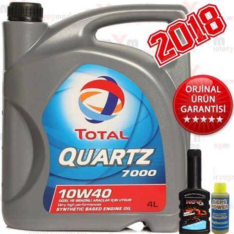 total quartz     litre dizel motor yagi mazot