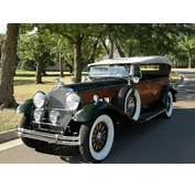 Dietrich Bodied Packard To Cross The Block At Leake  Hemmings Daily