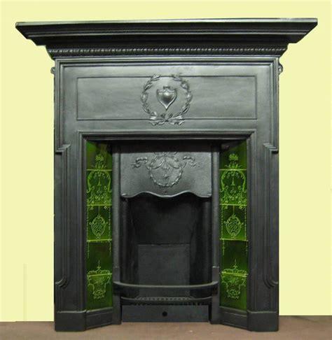 antique edwardian combination fireplace