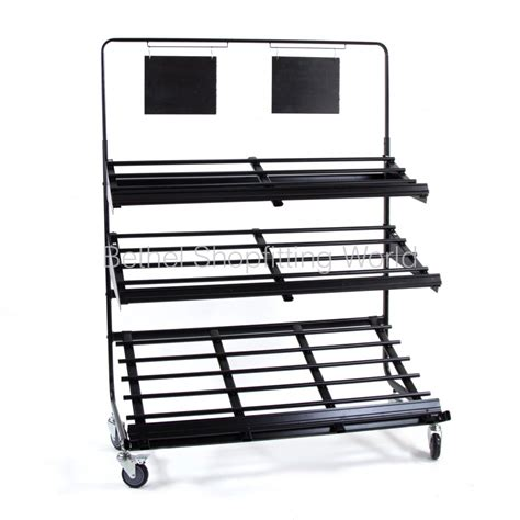 3 Tier Rack by Fresh Produce Display 3 Tier Rack Bethel Shopfitting World