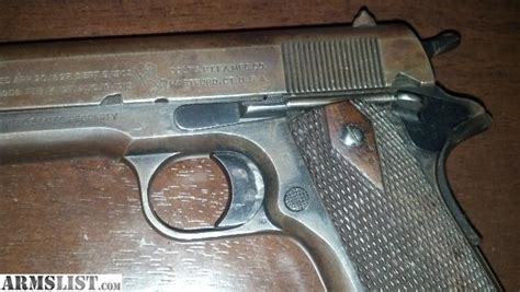 I Gear I01 1918 Black Original by Armslist For Sale 1918 Colt Quot Black Army Quot 1911