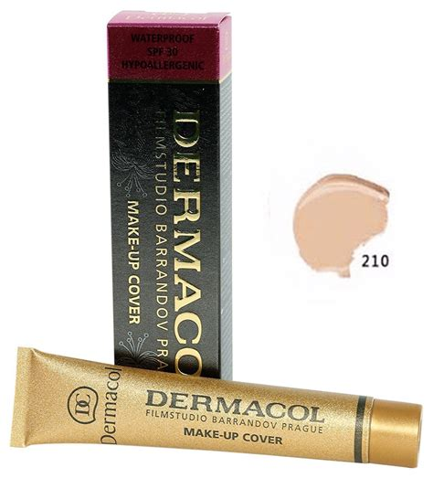 tattoo cover up makeup amazon amazon com dermacol cover foundation spf 30 color 211