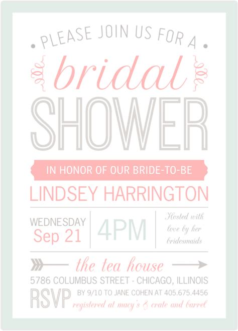 How Soon To Send Out Bridal Shower Invites by When Should You Send Out Wedding Shower Invitations