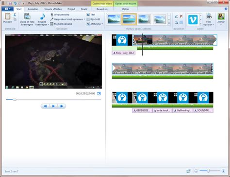 Windows Movie Maker Tutorial Nederlands | windows movie maker 2012 download