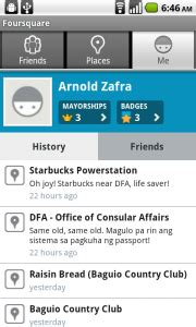 square app for android foursquare for android app review android app reviews android apps