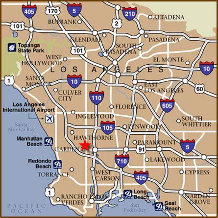 zip code map gardena ca gardena california map my blog