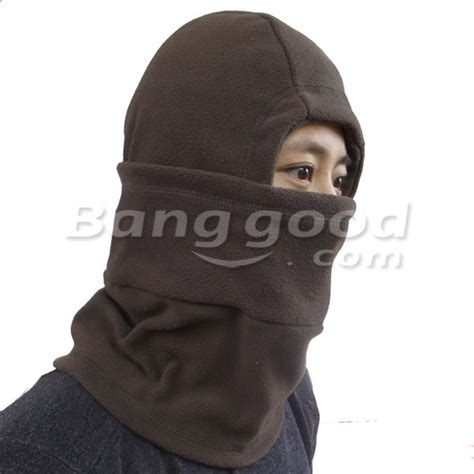 Masker Fleecy winter protection masked cap windproof fleece guard mask outdoor skiing rid us 6 55