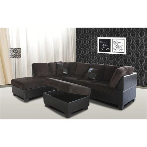 chocolate brown sectional sofa with chaise venetian worldwide taylor chocolate brown sectional sofa w