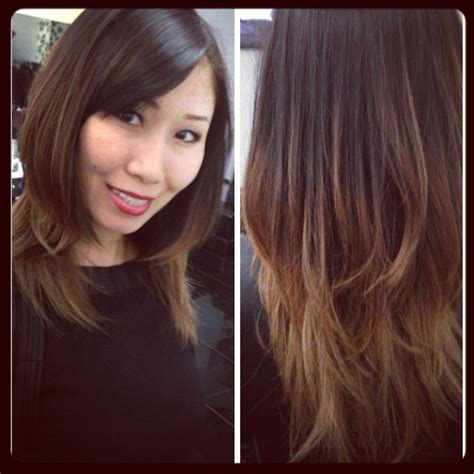 best ombre hair salon nj 104 best hairstyles images on pinterest