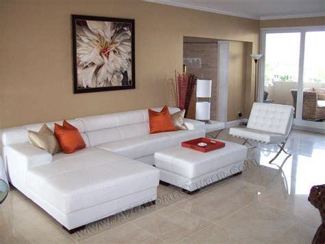 modern living room furniture white sofas designs