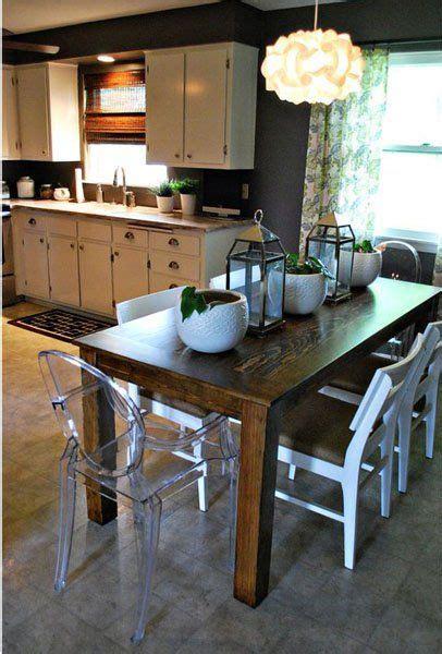 Diy Dining Room Table Makeover Pinterest