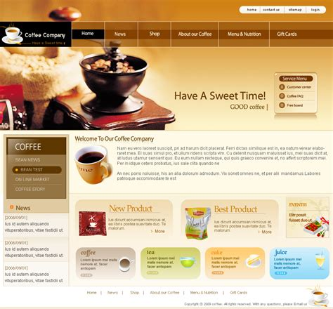 Website Design Templates E Commercewordpress Best Design Templates