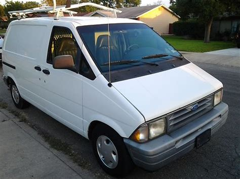 auto air conditioning repair 1990 ford aerostar parental controls find used 1997 ford aerostar cargo van in san antonio texas united states for us 3 800 00