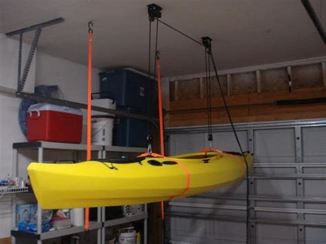 Hang Kayak From Ceiling by 63 Best Images About Diy Canoe Outrigger On