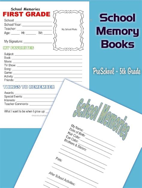 templates for memory books best memory book template images exle resume