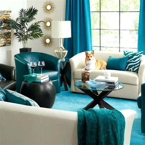 brown and teal home decor living room ideas teal color living room