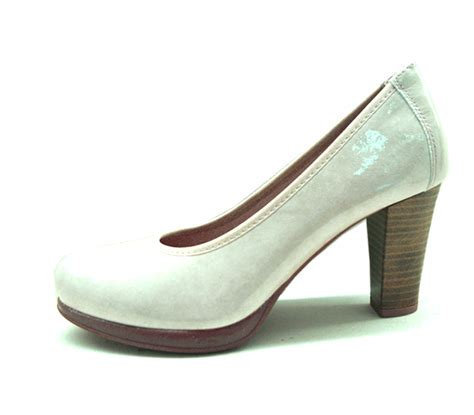 zapatos salon zapatos pitillos mujer sal 243 n perla