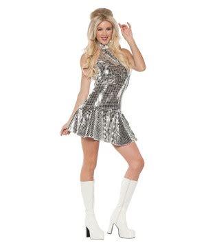 women costumes womens 70s disco costume