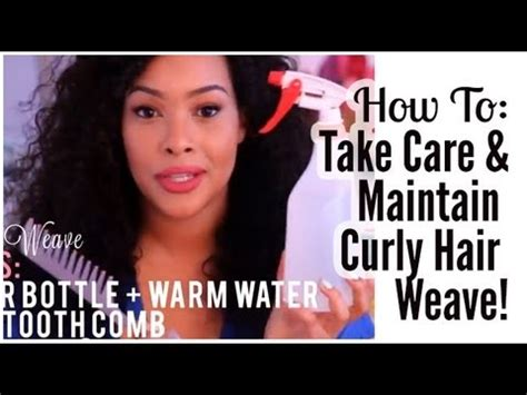 how to care for your hair extensions how to take care of curly hair weave extensions