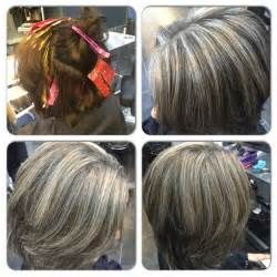 how to blend in gray in blonde hair with low lights image result for highlights blend gray haircuts