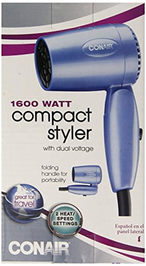 Conair Vagabond Hair Dryer conair vagabond compact 1600 watt folding handle hair dryer import it all