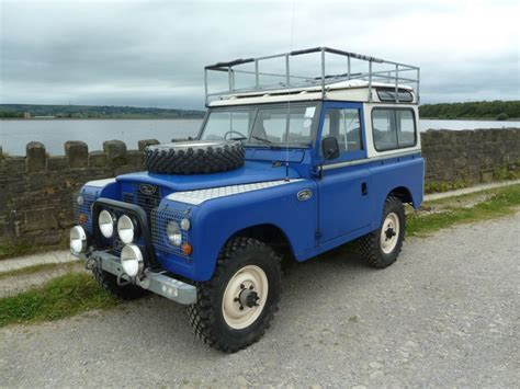 land rover safari gph 373k 1971 land rover series 2a rare searle safari