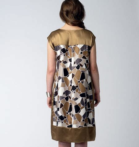 vogue patterns 1390 misses' dress