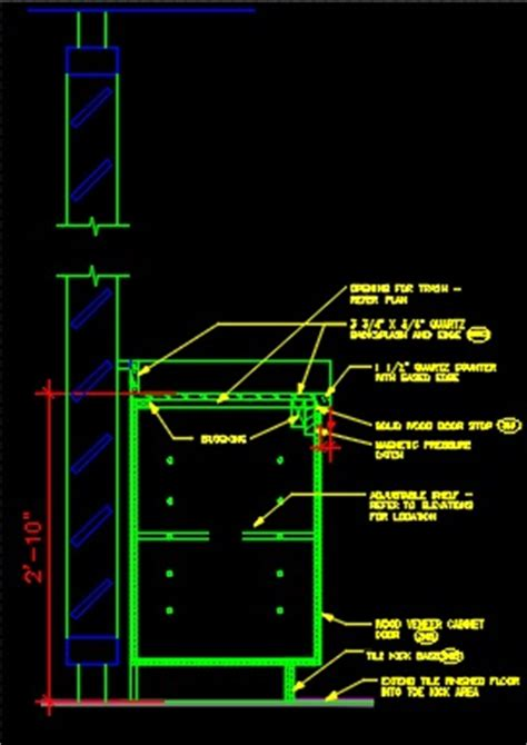 bar section millwork bar section cad files dwg files plans and