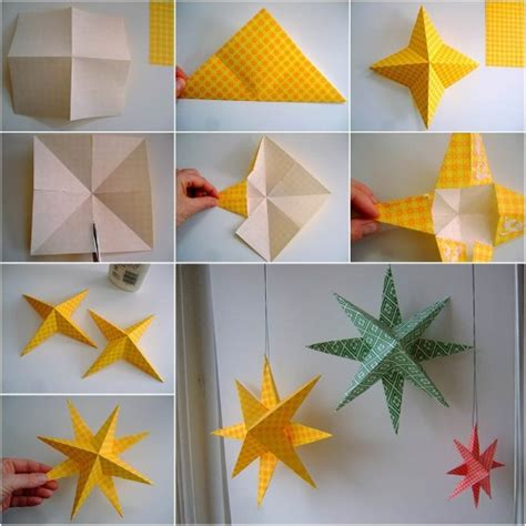 Origami Source - how to make paper with origami paper becoration