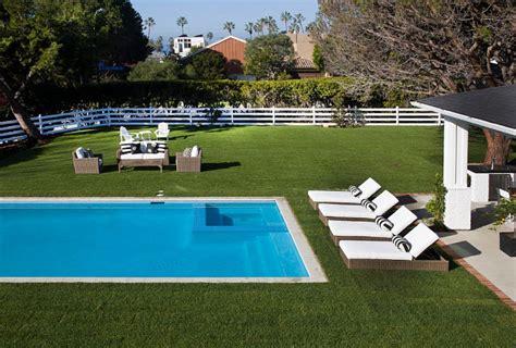 plan backyard layout spacious house with coastal interiors home bunch