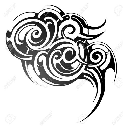 tribal cloud tattoo 17 best images about tribal tattoos on