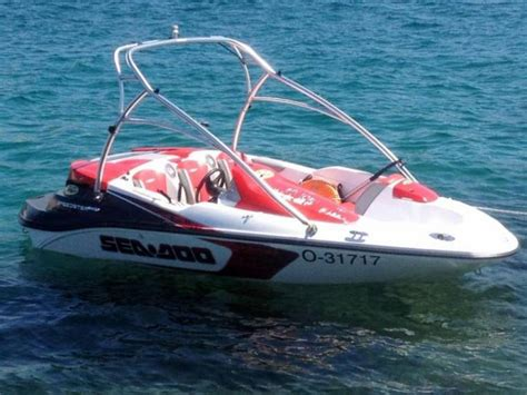 sea doo speed boat sea doo speedster 150 in austria cruisers used 15650