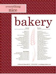 free bakery menu templates bakery menu template 25 free word psd pdf eps