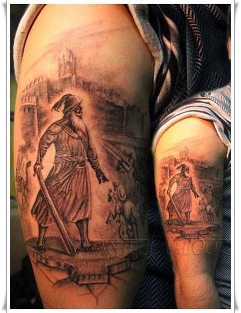 warrior symbol tattoo designs fullsleeve warrior design design of
