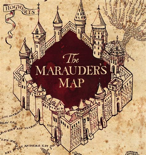 Marauders Map Printable Template Card by Crafting With Court Canvas Shoe Decoration Marauder S