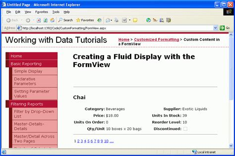 background templates for asp net website using the formview s templates c microsoft docs