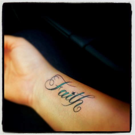 faith tattoo wrist my faith on wrist i tattoos