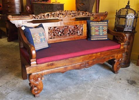 indonesian bench indonesian bench from reclaimed teak at gadogado com bali