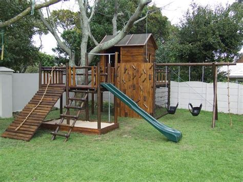 backyard jungle gym plans homemade wooden swing set woodworking projects plans