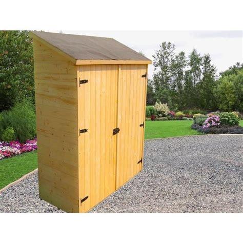abri de jardin mural en bois multiusages avec 3 233 tag 232 res 125x65x206cm achat vente abri