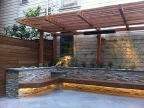 built in patio benches 15 new diy patio furniture and decoration ideas