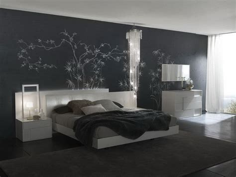 decorations amazing modern grey bedroom interior paint