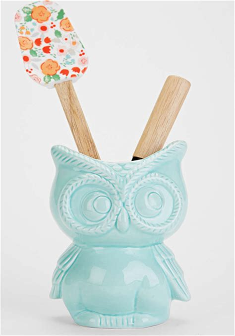 owl kitchen canisters kitchen utensils everything turquoise page 3